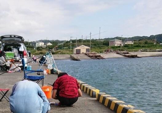 飯岡の釣り場所