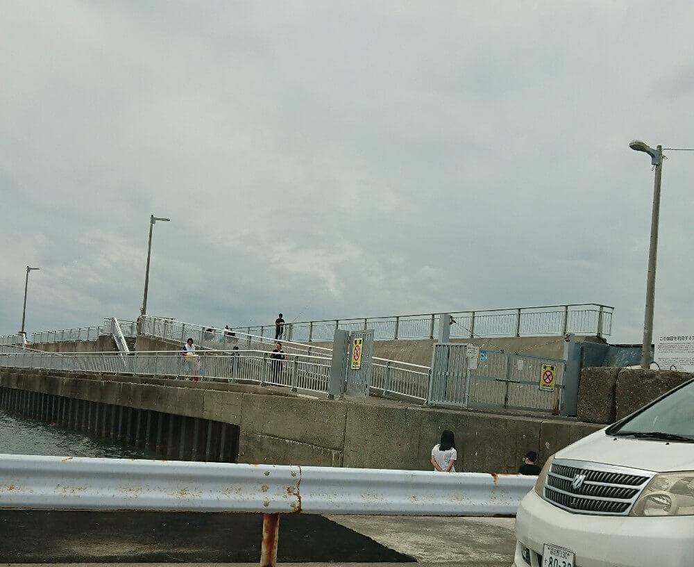 飯岡新堤防